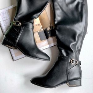 Aldo Fiwet Knee High Vegan Leather Riding Boots